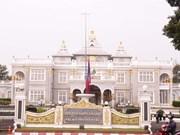 [Fotos] En Laos luto nacional por el fallecimiento del presidente Tran Dai Quang