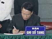 [Fotos] Delegación de Agencia Vietnamita de Noticias rinde tributo a Do Muoi, exsecretario general del Partido Comunista de Vietnam