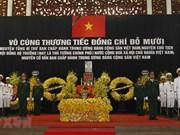 [Foto] Realizan honras fúnebres a Do Muoi, exsecretario general del Partido Comunista de Vietnam