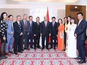 [Foto] Primeras actividades del premier vietnamita en Austria