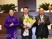 [Foto] Asamblea Nacional aprueba designación de Nguyen Manh Hung como ministro de Información y Comunicación