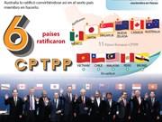 (Info) Seis países ratificaron CPTPP
