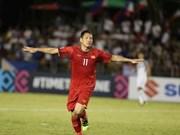 Vietnam vence a Filipinas y pone un pie en la final de la Copa AFF Suzuki