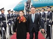 [Foto] Presidenta del Parlamento de Vietnam realiza visita oficial a Corea del Sur