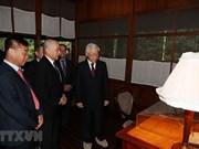 [Fotos] Rey de Camboya, Norodom Sihamoni, realiza visita a Vietnam