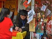 (Televisión) Recrean en Hanoi prácticas tradicionales en saludo a Tet