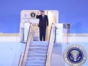 [Foto] Presidente estadounidense Donald Trump llega a Hanoi
