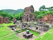 (Televisión) Aceleran en Vietnam restauración de torres en el Santuario My Son