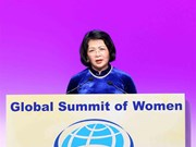 (Fotos) Asiste vicepresidenta vietnamita a la Cumbre Mundial de Mujeres en Suiza