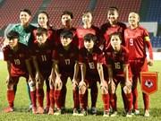 (Foto) Equipo de fútbol femenino de Vietnam se despide del sueño olímpico con las botas puestas