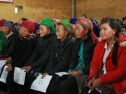 ONU apoya a mujeres de minorías étnicas en la provincia norvietnamita Lao Cai