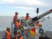 Comando de la Guardia Costera de Región 2 de Vietnam realiza ejercicio