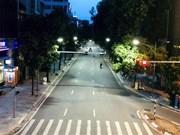 Hanoi durante el distanciamiento social aplicado según la Directiva 16