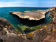 Belleza de la reserva de biosfera Nui Chua en Vietnam