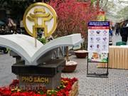 Descubra el nuevo aspecto de la calle de los libros de Hanoi