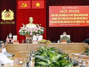 Presidente parlamentario de Vietnam participa en conferencia para garantizar seguridad de elecciones