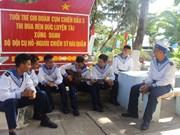 La vida de los oficiales y soldados vietnamitas en el distrito insular de Truong Sa