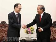 Llama vicepremier de Vietnam a impulsar cooperación anticorrupción con Corea del Sur