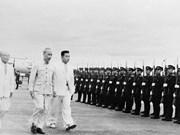 (Fotos) Imágenes de la visita del Presidente Ho Chi Minh a Corea del Norte en 1957