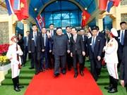 [Fotos] Las primeras imágenes del presidente Kim Jong-un en Vietnam
