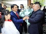 [Fotos] Presidente Kim Jong-un llega al hotel Melia