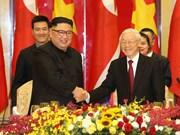 [Fotos] Banquete dedicado al presidente Kim Jong-un
