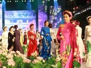"""(Televisión) Celebran Festival de """"Ao dai"""" en Ciudad Ho Chi Minh"""