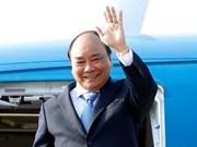 """Parte premier de Vietnam rumbo hacia China para foro sobre """"la Franja y la Ruta"""""""