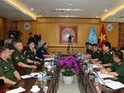 [Foto] Vietnam reitera compromiso de contribuir a la paz mundial
