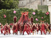 """""""Danzas del Sol"""" atraen a turistas a la ciudad costera de Da Nang"""