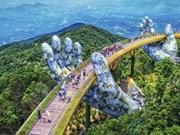 Puente dorado en Da Nang, nueva imagen icónica del turismo de Vietnam