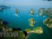 Maravillo paseo en helicóptero sobre la Bahía de Ha Long