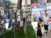 """(Televisión) Exhiben en Hanoi """"Diario de la Paz"""" sobre historia de luchas del pueblo"""