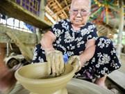 Viaje a una aldea cerámica de 500 años de antigüedad a la orilla del río Thu Bon