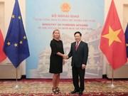 [Video] Vicepremier de Vietnam mantiene conversaciones con vicepresidenta de la CE