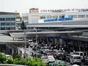 (Televisión) Aeropuerto internacional Tan Son Nhat entra a temporada alta del Tet
