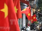 Coloridas calles de Hanoi en saludo al Día Nacional