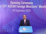 Inauguran 53 Reunión de Ministros de Relaciones Exteriores de la ASEAN