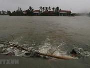 Inundaciones dividen áreas residenciales en provincia de Phu Yen