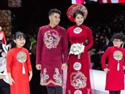 'Kim Lang': Impresionante colección de Ao Dai