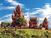 El misterioso conjunto de torres Po Klong Garai en la provincia de Ninh Thuan