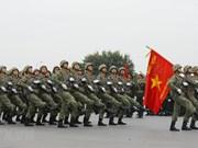 Policías vietnamitas por garantizar seguridad de magna cita del Partido