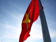 Izamiento de bandera honra a soldados defensores de soberanía marítima nacional