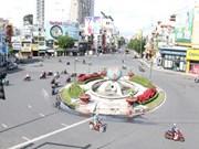 Transporte en Ciudad Ho Chi Minh en los primeros días del distanciamiento social