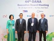 [Fotos] Inauguran reunión 44 del Comité Ejecutivo de la OANA en Hanoi