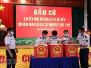 Soldados en provincia vietnamita participan en elecciones legislativas anticipadas