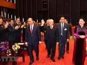 Sesión preparatoria del XIII Congreso Nacional del Partido Comunista de Vietnam