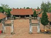 Atractivo templo de Mong Phu en el norte de Vietnam