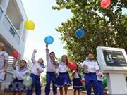 La vida de los niños en el archipiélago vietnamita de Truong Sa
