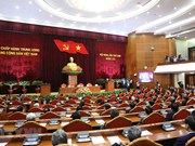 [Foto] Clausuran noveno pleno del Comité Central del Partido Comunista de Vietnam